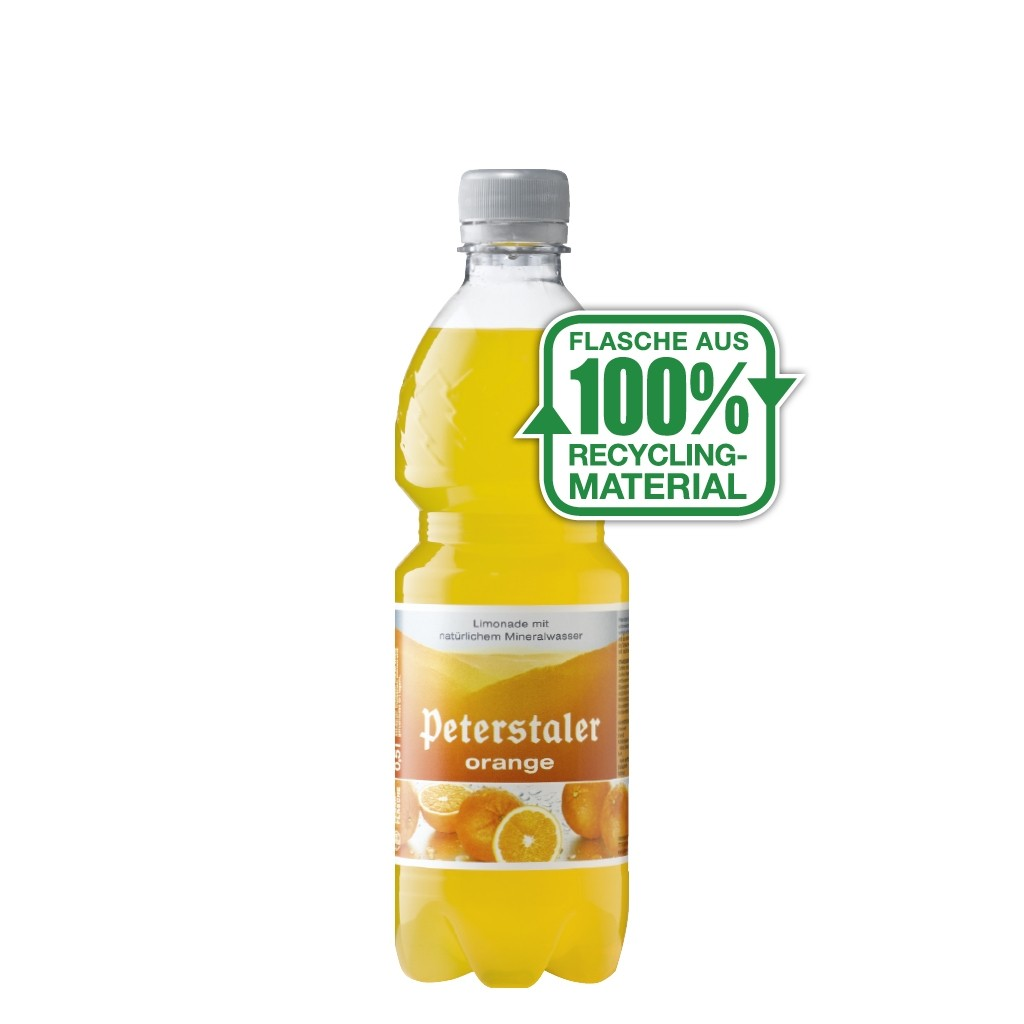 Peterstaler Orange 0,5L PET, 40 Flaschen