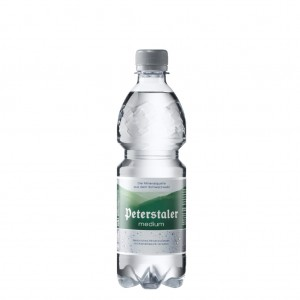 Peterstaler medium 0,5L PET, 40 Flaschen