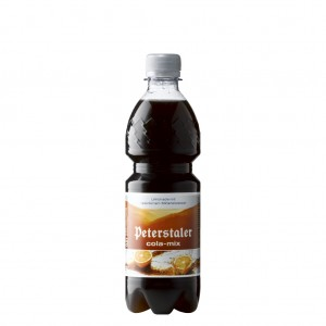 Peterstaler Cola-Mix 0,5L PET, 40 Flaschen